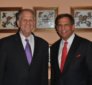 Dr. Russell Kridel with Congressman Ted Poe