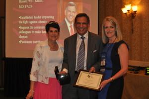 Dr Kridel given Texas Bluebonnet Award