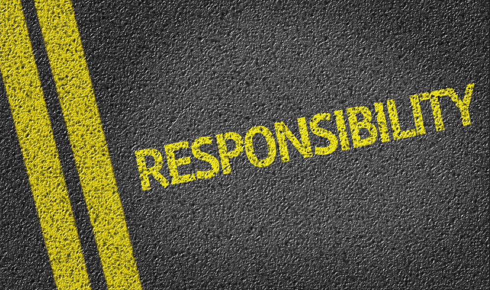 being responsible for your own actions to avoid crimes Make your kids responsible for their actions  is the real world and your child must be accountable/responsible for his/her own behavior,  this being true, .