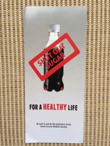 Shut Out Sugar brochure